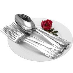 6 zilveren dinercouverts art deco