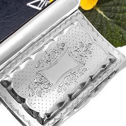 zilveren snuifdoosje