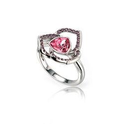 Elements Ring Roze En Paars Zirkonia