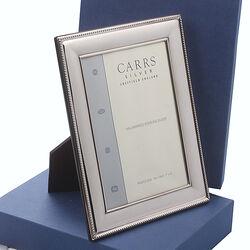 zilveren fotolijst 13x18 van carrs lrw487