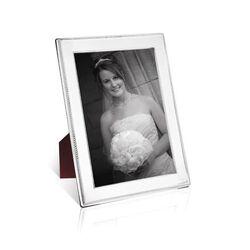 Fotolijst zilveren montuur kabelrand Carrs