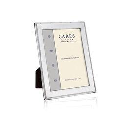 Carrs Fotolijst  Zilveren Montuur Kruismotief