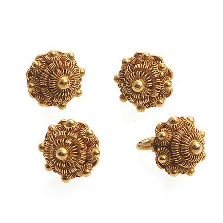 14 karaats antiek gouden knopen