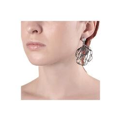 Zilveren oorbellen Garden van Raspini