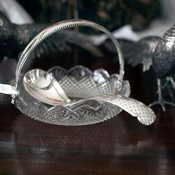 Biedermeier Zilveren Compoteschep