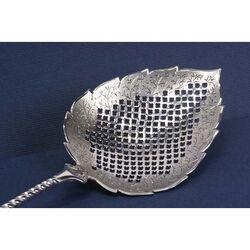 Zilveren natfruitschep ajour