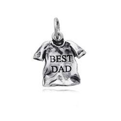 Zilver hanger voor de beste vader van Raspini