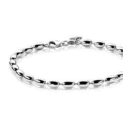 Zinzi Zilveren Armband Ovaaltjes