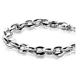 Zilver schakelarmband Zinzi zia1206