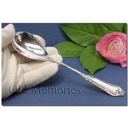 Zilveren dienlepel model Jugendstil
