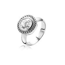 Zilveren ring zirkonia Zinzi ZIR1187