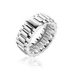 Stoere Zinzi Ring Brede Schakel Zir1204