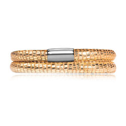 Endless Leren Armband J-Lo Goud