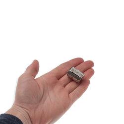 Zilveren centimeterhouder