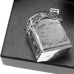 Zilveren Lodereindoosje Kabinet