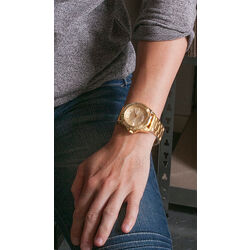 MY iMenso horloge verguld staal