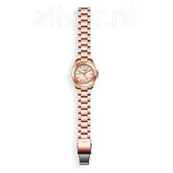MY iMenso horloge roséverguld stalen band