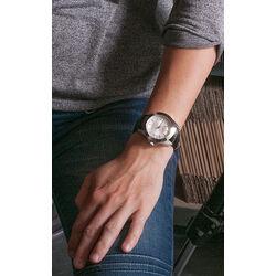 MY iMenso horloge met zwart leren band