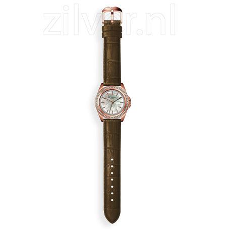 MY iMenso Horloge Verguld,   Leren Band
