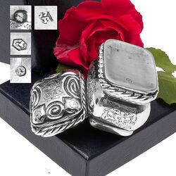 Antiek Zilveren Lodereindoosje Joure
