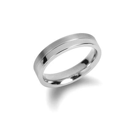 Boccia Titanium Ring Strak 0129-01