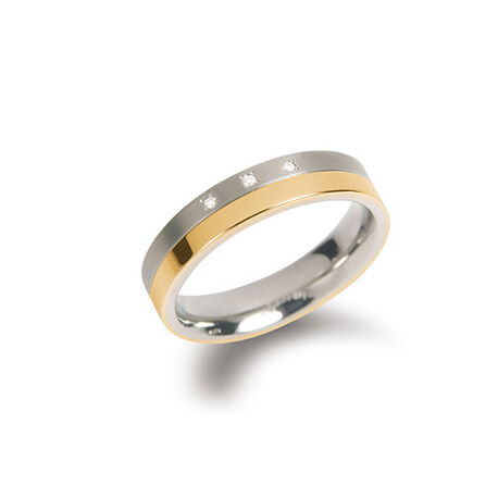 Boccia ring 3 diamantjes 0129-04