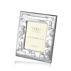 Carrs zilveren geboortefotolijstje Cr3-Ss