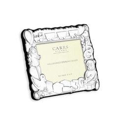 Carrs Zilveren Kinderlijst Met Speelgoed Ch3l/B