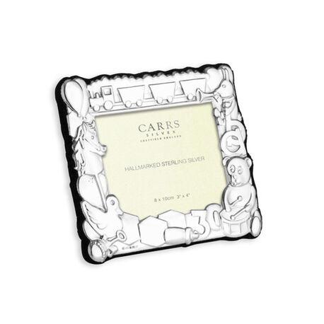Zilveren fotolijst kind baby ch3l/b Carrs Sheffield