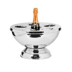 Stalen champagnekoeler voor 6 of meer flessen