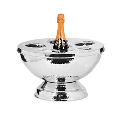 Stalen Champagne Koeler 6 Flessen