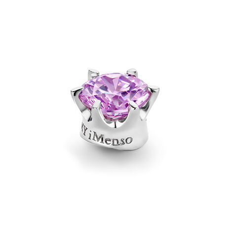 MY iMenso Elegance Knopje Lavendel Zirkonia 8 Mm 280806