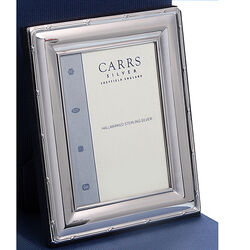 zilveren fotolijst reed en ribbon Carrs