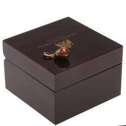Faberge ei hanger baboesjka bruin emaille