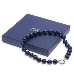 Lapis lazuli collier zilver slot