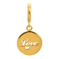 Vergulde bedel Love Coin Gold Endless 53304