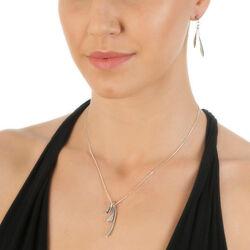 Hot Diamonds Aqua Pendant Collier Dp568