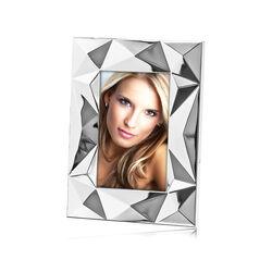 Verzilverde fotolijst geometische vormen 15x10