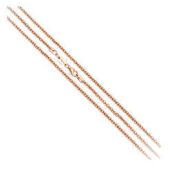MY iMenso Diabomba collier roséverguld 27-0025 80cm