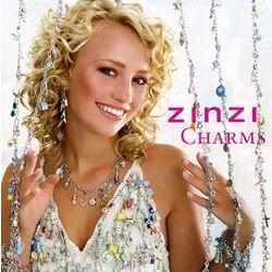 Zilveren charm met zwart zirconia van Zinzi ch249bl