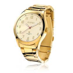 Zinzi Goudkleurig Stalen Horloge Ziw213