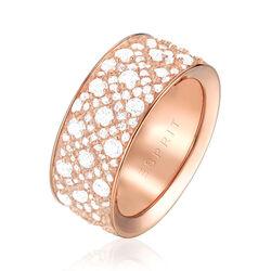 Esprit Rosé vergulde ring megara met zirkonia
