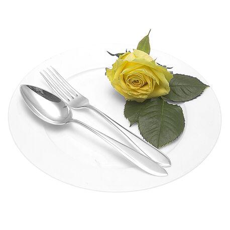Zilveren dessertcouvert model puntfilet 2033