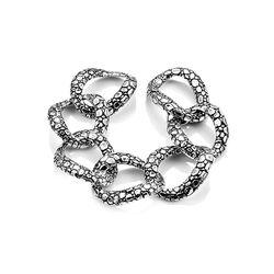Raspini zilveren krokodil armband