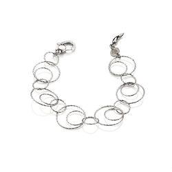 Zilver armband Bubbles van Raspini