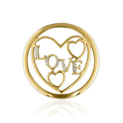 Love insignia verguld MY imenso 33-1187