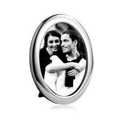 grote ovale zilveren fotolijst van Carrs po3