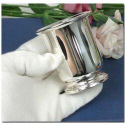 Zilveren Beker Op Voet Tulpvorm