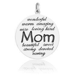 Zilver hanger voor mama