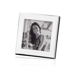 Zilveren Fotolijstje Vierkant 6 X 6